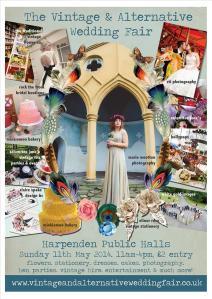 vintage & alternative wedding fair poster