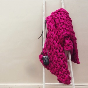 chunky knit throw lauren aston designs
