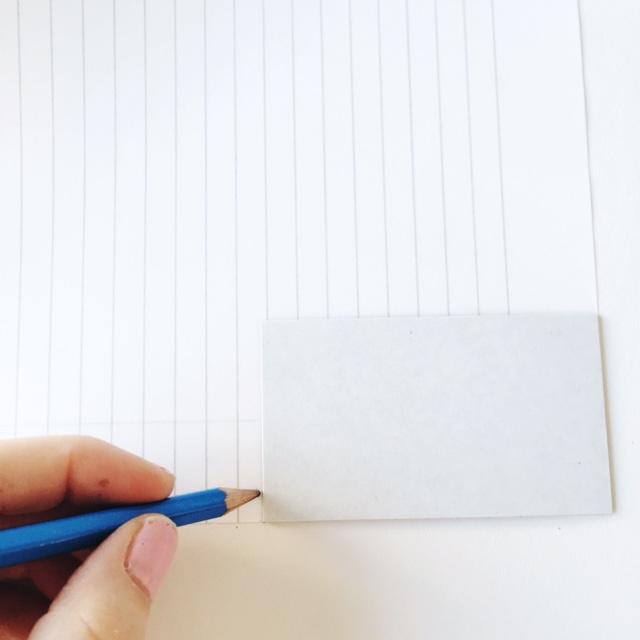 diy magnet tutorial line paper