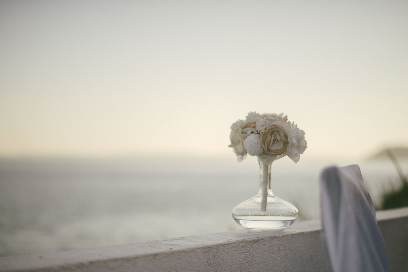fabric bouquet real wedding Croatia 2