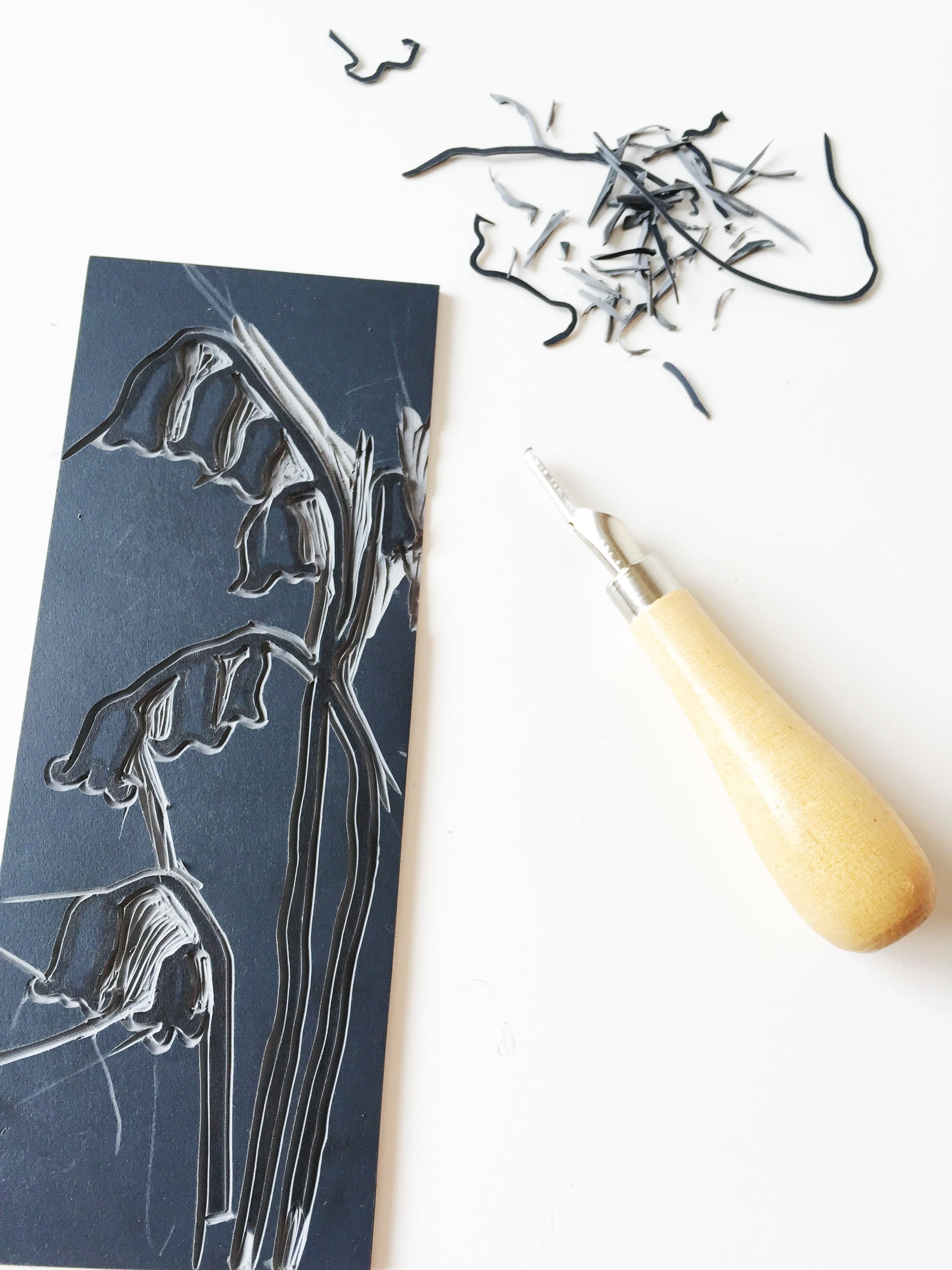 lino cutting 3