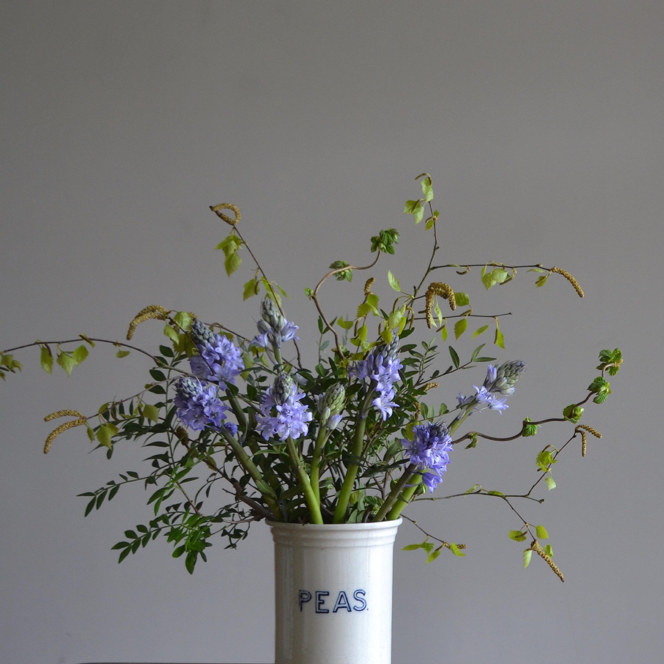 rowena bluebell arrangement