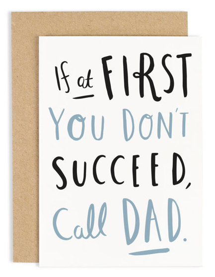 Fathers Day card - Old English Company
