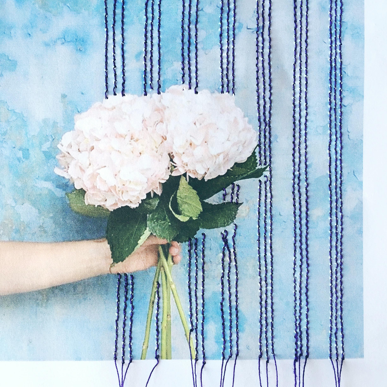 Hannah Arglye stitched hydrangea image daphnerosa